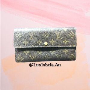 💯 Authentic Louis Vuitton Sarah Wallet ‼️‼️‼️